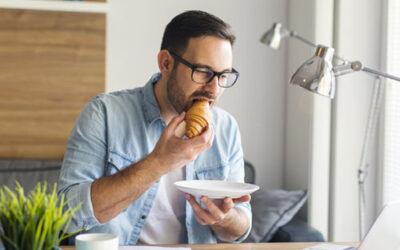 Ablenkung beim Essen