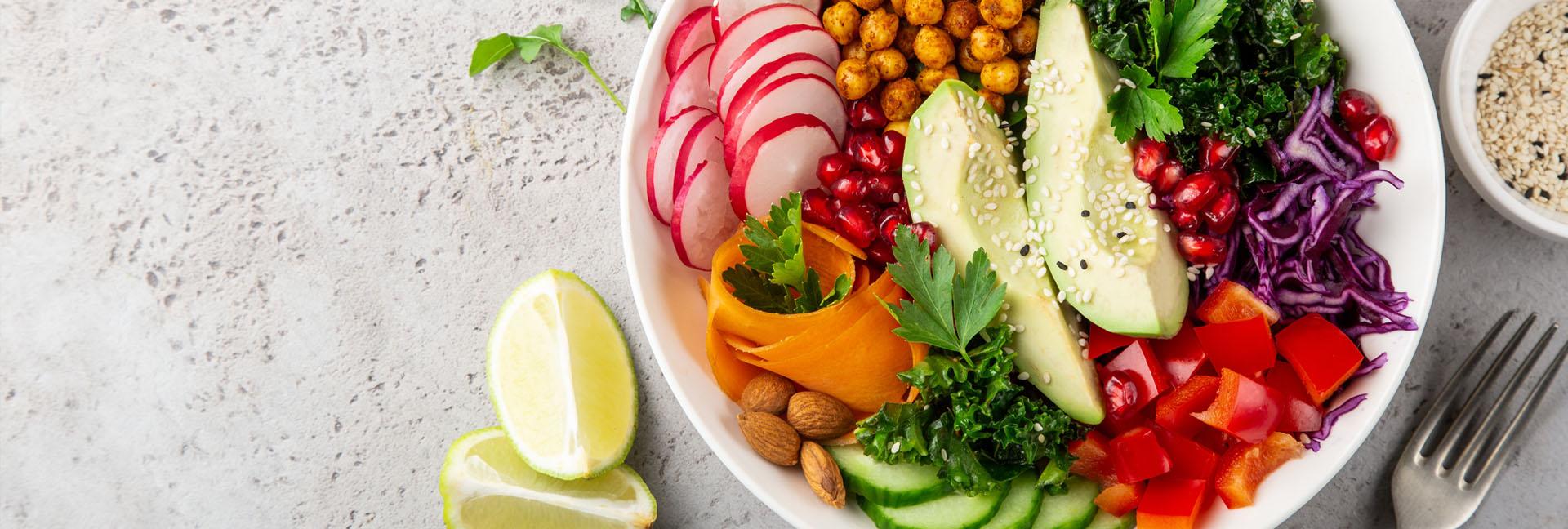 Ernährung, Gemüse, Bowl Salat